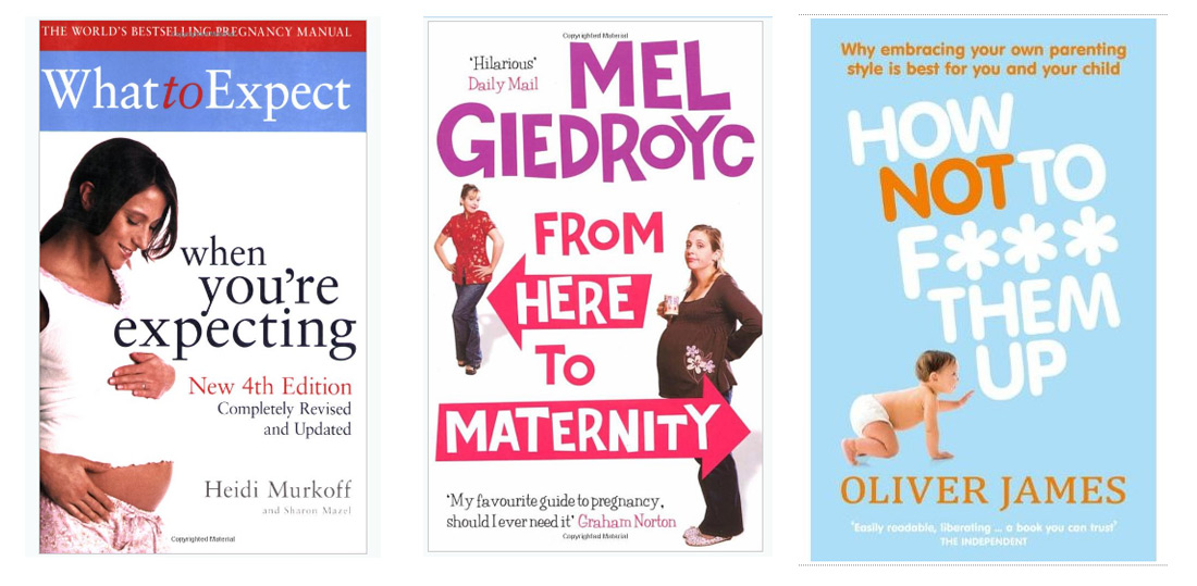useful books to read during your pregnancy