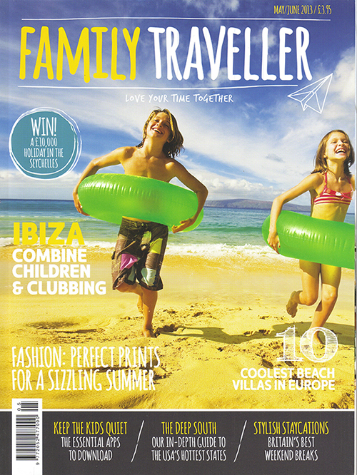 Family Traveller_May June 2013_Cover