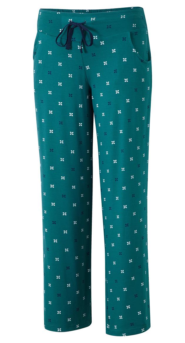 019-PJ32-32 | PJ pant w pockets | emerald print