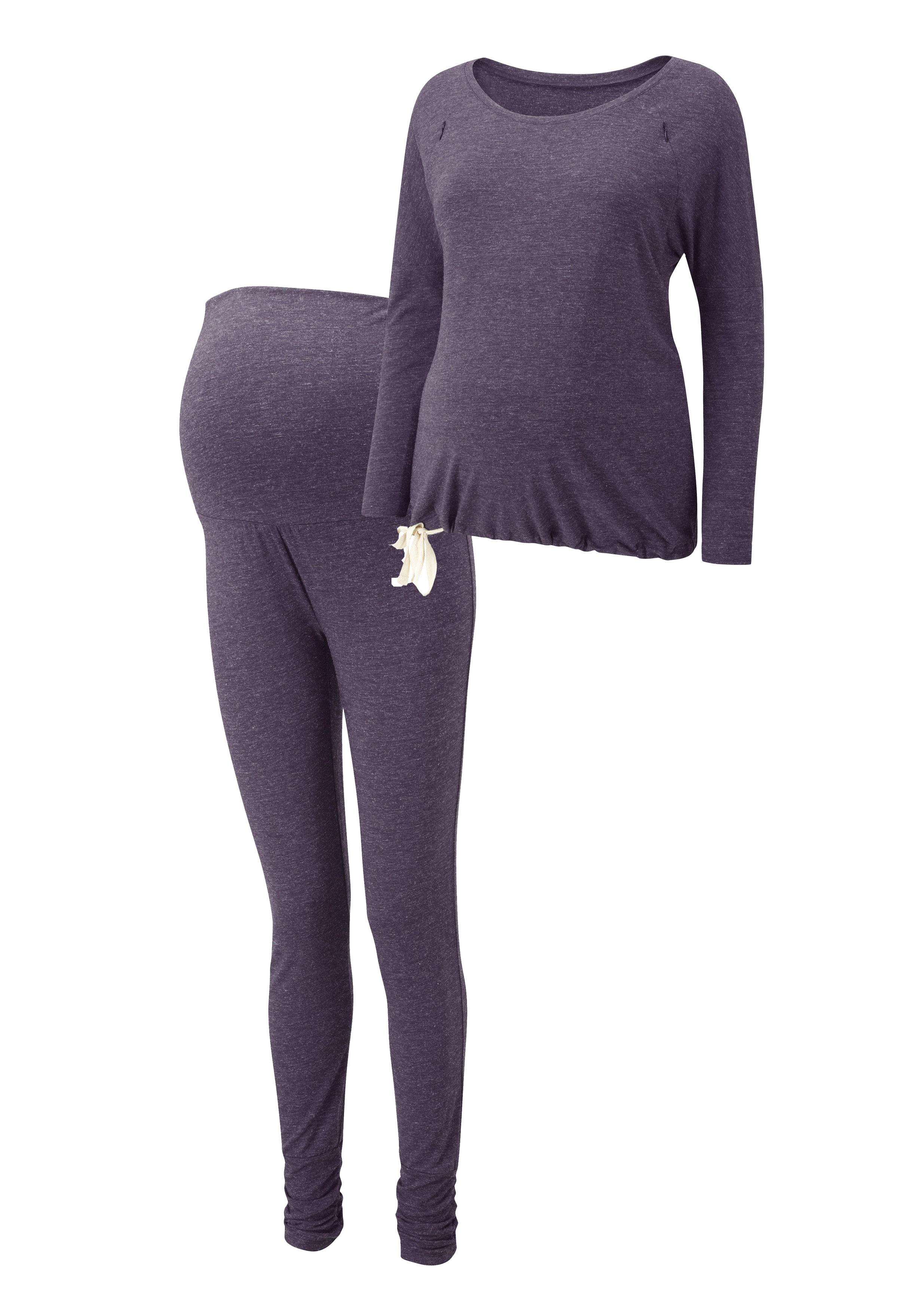 loungerwear | set aubergine